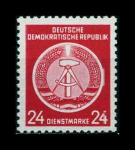 DDR DIENST 1954 Nr 9x postfrisch (401267)