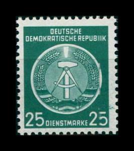 DDR DIENST 1954 Nr 10x YI postfrisch (401251)