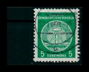 DDR DIENST 1954 Nr 18II XII gestempelt (401253)