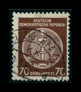 DDR DIENST 1957 Nr 41yA gestempelt (401258)