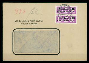 DDR DIENST 1956 Nr 6 PF I siehe Beschreibung (205855)
