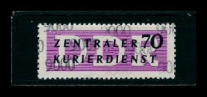 DDR DIENST 1956 Nr 9 PF I gestempelt (401315)