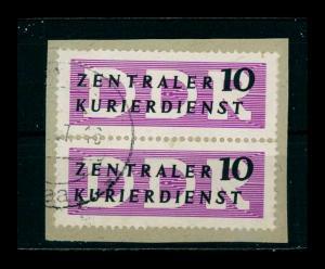 DDR DIENST 1956 Nr 6 PF II gestempelt (401317)