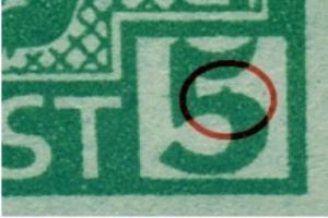 1ABux F94 postfrisch, im Viererblock mit Normalmarken (6635)
