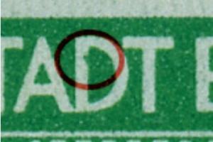 1AAux F97 postfrisch, senk. Paar mit Normalmarke (6642)