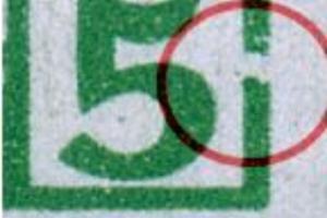 1AAvx F98 (XV) postfrisch, senk. Paar mit Normalmarke (6644)