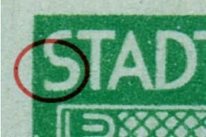 1ABvx F100 postfrisch, senk. Paar mit Normalmarke (6650)