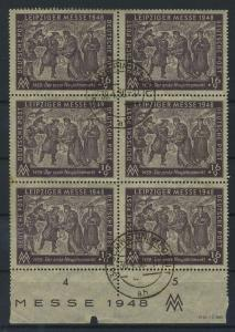 SBZ 1948 Nr 198 DV gestempelt (119319)