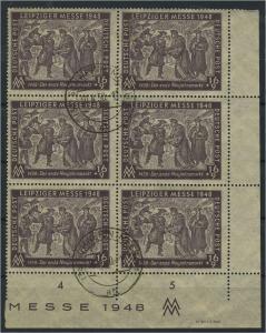 SBZ 1948 Nr 198 DV gestempelt (119320)
