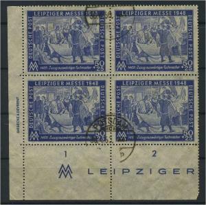 SBZ 1948 Nr 199 DZ gestempelt (119322)