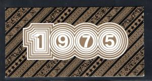 DDR - Gedenktblatt, Weimaria 1975