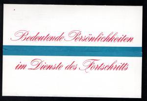 DDR - Gedenktblatt, Bedeutende Persönlichkeiten
