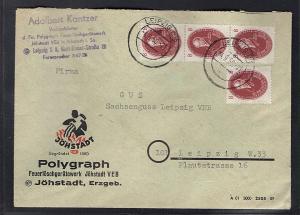 DDR. Orts-Brief, mit MeF. Mi.-Nr. 264