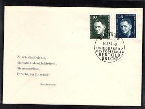DDR.FDC. Mi.-Nr. 593-594, falscher Schreibweise