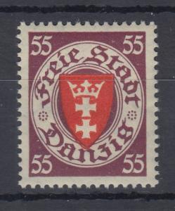 Danzig 1937 Staatswappen Wert 55 Pfg. Mi.-Nr. 269 postfrisch **