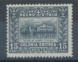 Italienisch-Eritrea, seltene Marke Mi.-Nr. 41A gez. L13 1/2, sauber ungebraucht