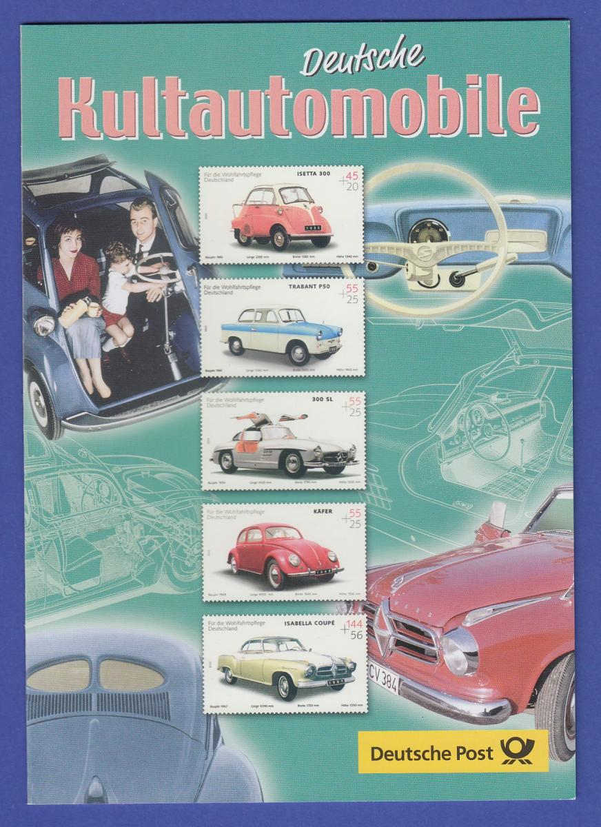 Deutschland 2002 Faltblatt