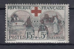 Frankreich 1918, Rotes Kreuz Mi.-Nr. 136 sauber ungebraucht