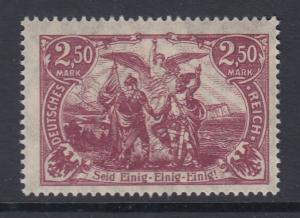 Dt. Reich Freimarke Nord und Süd 2,50 Mark Mi.-Nr. 115 postfrisch **