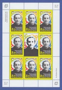 Bosnien (kroatische Post) 2013 Kleinbogen Mi.-Nr. 380 Pater Mladan Hrkac **