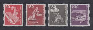 Bundesrepublik 1978-79 Freimarken Industrie und Technik  Mi.-Nr. 990-994 **