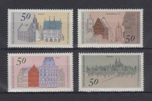 Bundesrepublik 1975 Europäisches Denkmalschutzjahr  Mi.-Nr. 860-863 **