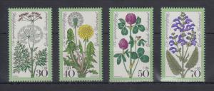 Bundesrepublik 1977 Wohlfahrt Wiesenblumen   Mi.-Nr. 949-952 **