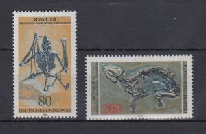 Bundesrepublik 1978 Fossilien   Mi.-Nr. 974-975 **