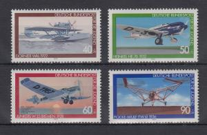 Bundesrepublik 1979 Jugend Luftfahrt  Mi.-Nr. 1005-1008 **