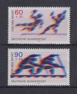 Bundesrepublik 1979 Sporthilfe  Mi.-Nr. 1009-1010 **