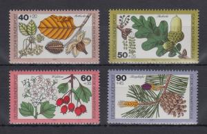 Bundesrepublik 1979  Blätter,Blüten u.Früchte des Waldes  Mi.-Nr. 1024-1027 **