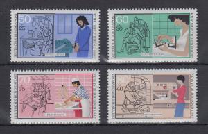 Bundesrepublik 1987 Jugend Handwerksberufe  Mi.-Nr. 1315-1318 **