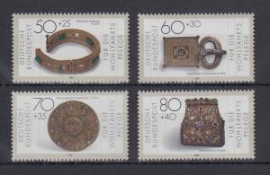 Bundesrepublik 1987 Wohlfahrt Gold / Silberschmiedekunst  Mi.-Nr. 1333-1336 **
