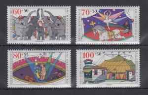 Bundesrepublik 1989 Jugend Zirkus  Mi.-Nr. 1411-1414 **