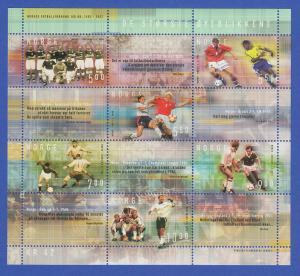 Norwegen 2002 Block 23 **  100 Jahre Norwegischer Fussballverband (II).