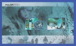 Norwegen 2007 Block 34 ** Internationales Polarjahr (2007 bis 2008)