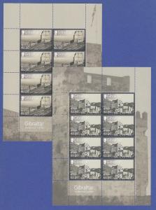 Gibraltar 2017 EUROPA Burgen Kleinbogensatz **
