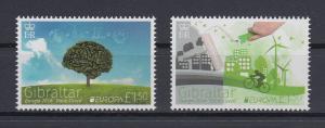 Gibraltar 2016 Mi.-Nr. 1727-28 Satz 2 Werte EUROPA Umweltbewusst leben.