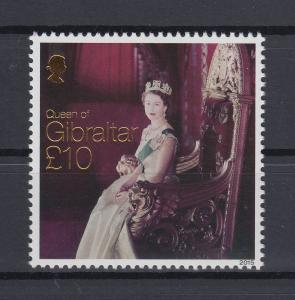 Gibraltar 2015 Mi.-Nr. 1692 Königin Elisabeth II. Hoher Wert 10 Pfund