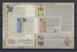Gibraltar 2016 Mi.-Nr. Block 123  800 Jahre Magna Charta