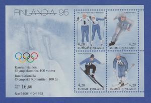 Finnland Blockausgabe 1994 Mi.-Nr. Block 11 ** FINLANDIA `95 Helsinki
