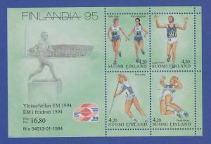 Finnland Blockausgabe 1994 Mi.-Nr. Block 12 ** FINLANDIA `95 Helsinki