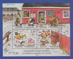 Finnland Blockausgabe 1994 Mi.-Nr. Block 14 ** Jugendhobbys - Comics