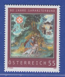 Österreich 2007 Sondermarke 80 Jahre Arbeiter-Samariter-Bund  Mi.-Nr. 2653