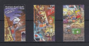 Belgien 2003 Comic Stern und Pilou Mi.-Nr. 3211-3213 Satz 3 Werte **