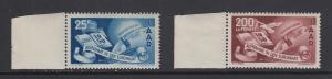 Saarland 1950 Europarat-Satz Mi.-Nr. 297-298 2 Werte postfrisch **