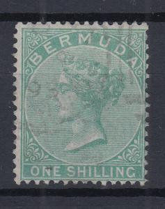 Bermuda 1865 Queen Victoria Mi.-Nr. 5A sauber gebraucht
