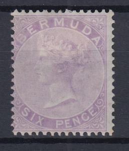 Bermuda 1874 Queen Victoria Mi.-Nr. 4Aa sauber ungebraucht *