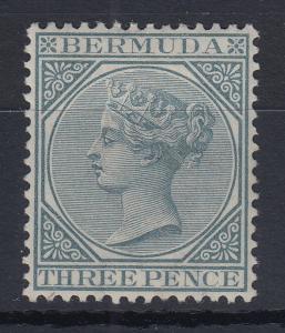 Bermuda 1886 Queen Victoria Mi.-Nr. 18 sauber ungebraucht *