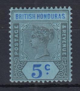 British Honduras (Belize) 1900 Queen Victoria Mi.-Nr. 44 sauber ungebraucht